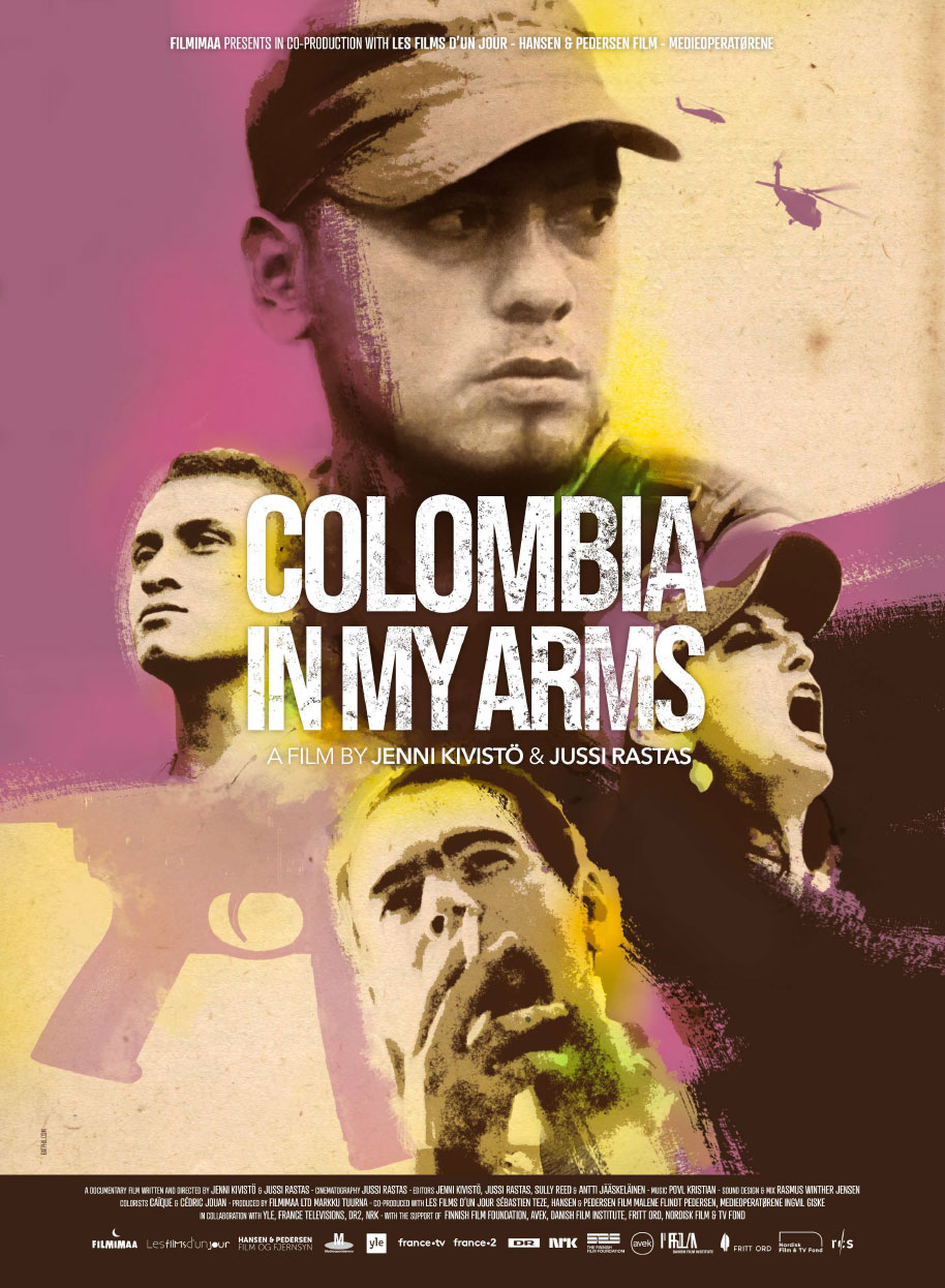 Colombia in My Arms - Colombia fue nuestra - Official Poster