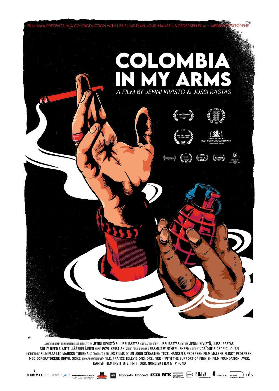 Colombia in My Arms - Colombia fue nuestra - Alternative Poster